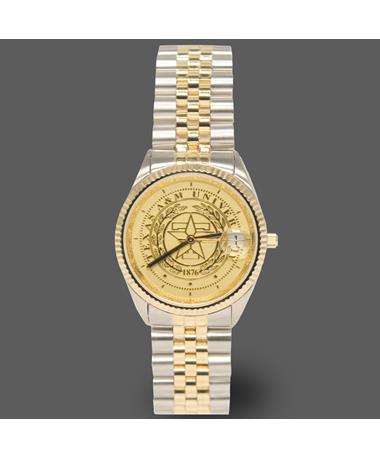 Texas A&M Belair Ladies Two Tone Watch