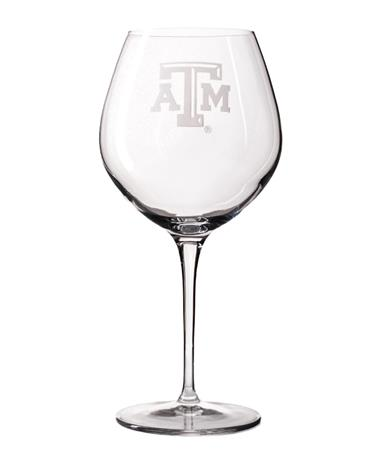 Texas A&M Luigi Bormioli 22oz Wine Glass
