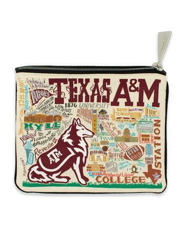 Texas A&M CatStudio Zip Pouch