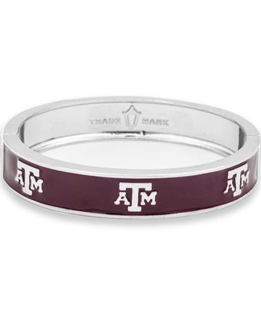 Texas A&M Block Logo Bangle
