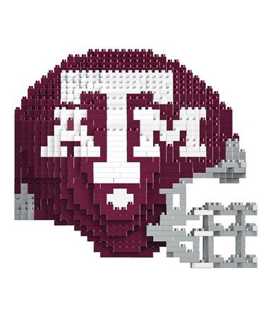 Texas A&M Football Helmet 3D Lego Set