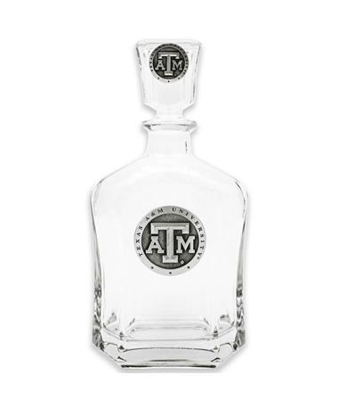 Texas A&M Heritage Pewter Capitol Decanter