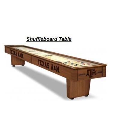 Texas A&M 9 FT Shuffleboard