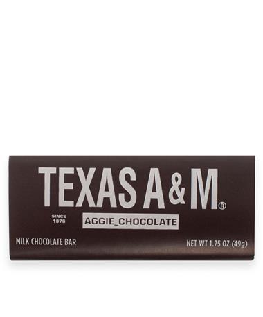 Texas A&M Milk Chocolate Bar