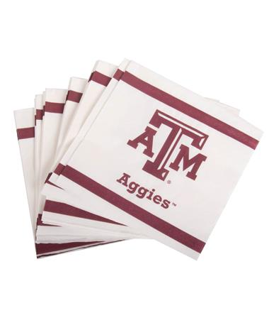 Texas A&M Aggie Luncheon Napkin 20ct