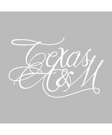 Texas A&M Elegant Decal