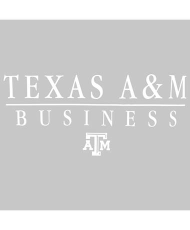 Texas A&M Aggie Business Decal