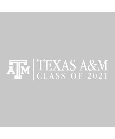 Texas A&M Basic Class of 2021 Decal
