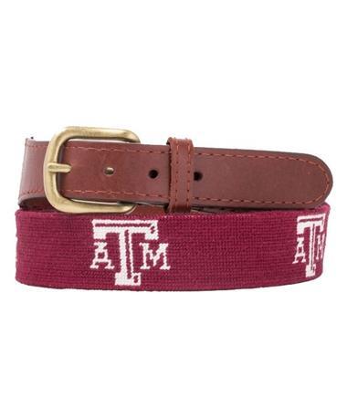 Texas A&M Smathers & Branson Stitched Belt