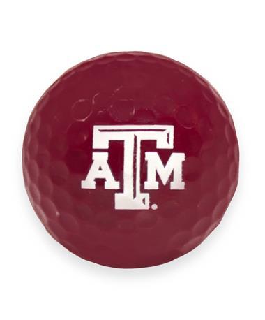 Texas A&M Aggie Maroon Golf Ball