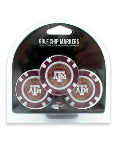 Texas A&M Ball Marker Chip Pack