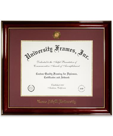 CUSTOM ORDER ITEM: University Frames Texas A&M Classic Medallion Diploma Frame