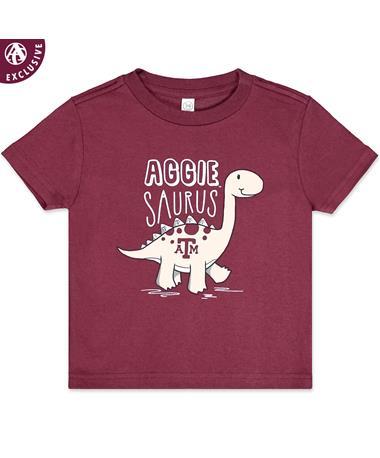 Texas A&M Aggie Toddler Saurus T-Shirt