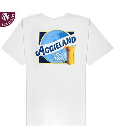 Texas A&M Aggie Maroon Moon T-Shirt