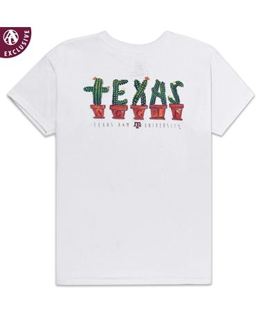 Texas A&M Aggie Always on Point Cactus Youth T-Shirt