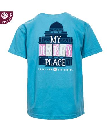 Texas A&M Happy Place Youth T-Shirt