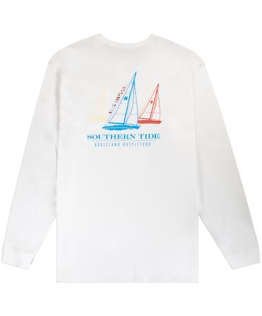 Texas A&M Southern Tide Longsleeve Three Sails
