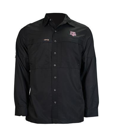 Texas A&M GameGuard Men's MicroFiber Long Sleeve Shirt