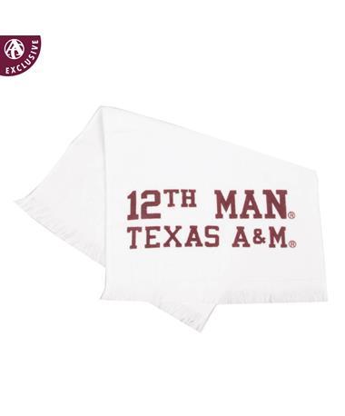 Texas A&M Aggie 12th Man Towel
