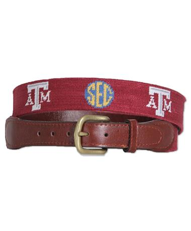 Texas A&M Smathers & Branson SEC Belt
