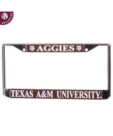 Texas A&M Aggies License Plate Frame
