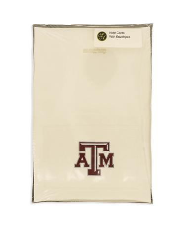 Texas A&M Aggie Chiseled Notecards