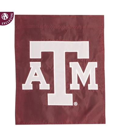 Texas A&M Aggie Maroon Garden Flag
