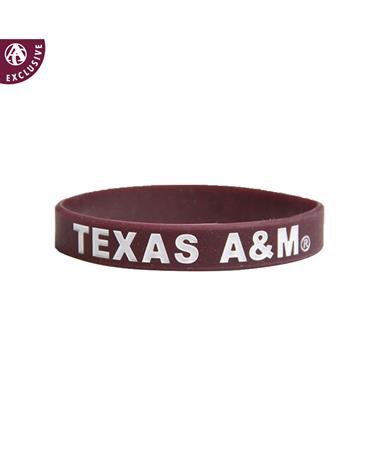 Texas A&M Spirit Band Silicon Bracelet
