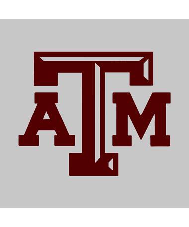 Texas A&M Medium Beveled Maroon Decal