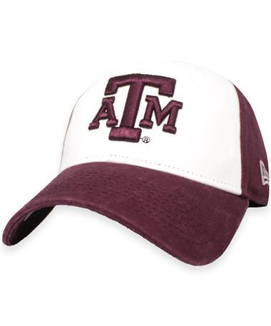 Texas A&M New Era White Core Classic Hat