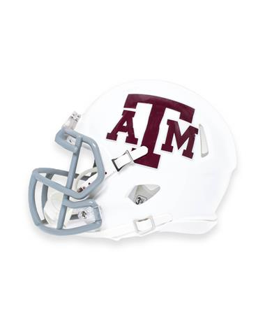 Texas A&M Riddell Aggie Speed Mini Football Helmet