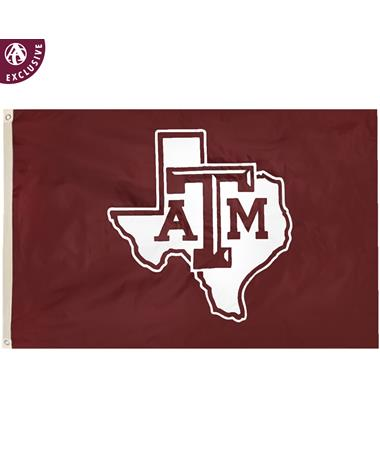Texas A&M Large Lone Star Flag