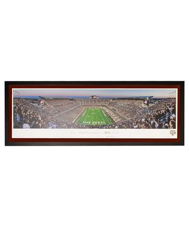 Texas A&M Kyle Field Select Frame Panorama