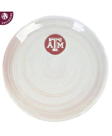 Texas A&M Round Platter