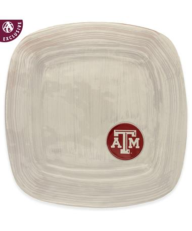Texas A&M Square Platter