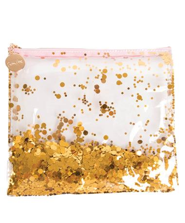 Packed Party Gold Everything Pouch