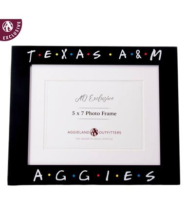 Texas A&M Aggies Friendly Picture Frame