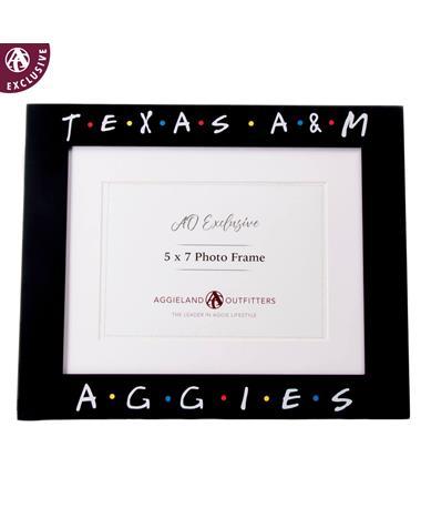Texas A&M Aggies Friendly Picture Frame
