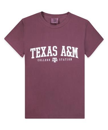 Texas A&M Aggie Basic Block T-Shirt