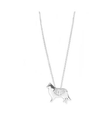 Texas A&M Jane Metz Reveille Pendant Necklace