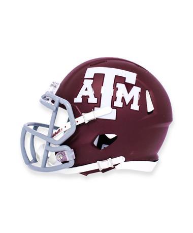 Texas A&M Riddell Speed Mini Football Helmet
