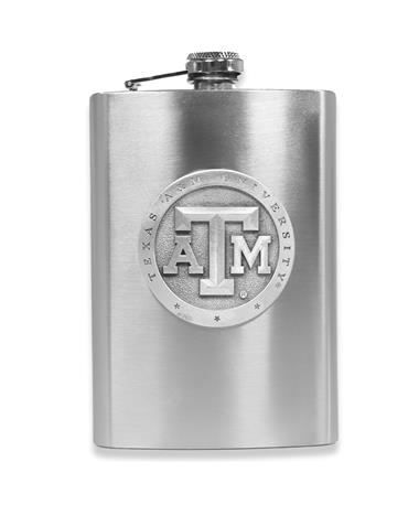Texas A&M Heritage Pewter Flask