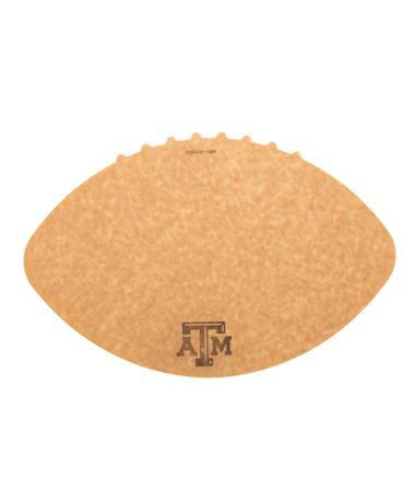 Texas A&M Novelty Football Cutting Board