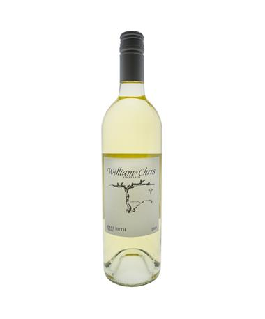 IN STORE PICKUP OR LOCAL DELIVERY ONLY: William Chris Mary Ruth White Wine