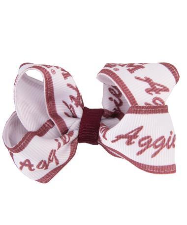 Texas A&M Aggies Logo Toddler Bow Pair