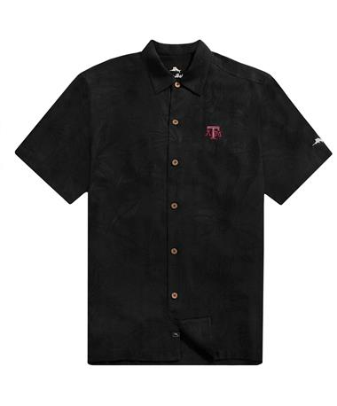 Texas A&M Tommy Bahama Al Fresco Tropics Jacquard Shirt