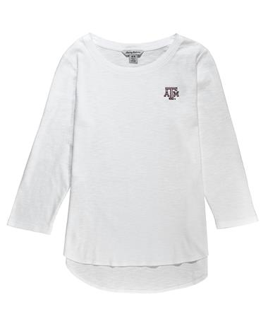 Texas A&M Tommy Bahama Ashby 3/4-Sleeve Top