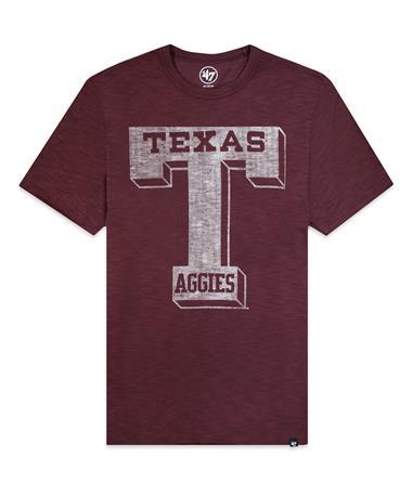 Texas A&M '47 Brand Men's Vault T Grit Scrum T-Shirt