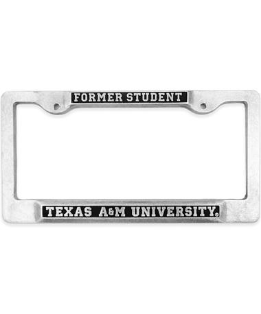 Texas A&M Former Student License Plate Frame