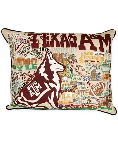 Texas A&M CatStudio XL Pillow